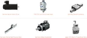 Bodor S-series Tyske komponenter