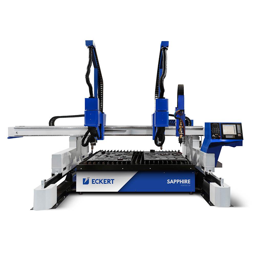 Eckert Sapphire  Plasma skjæremaskin med fugeskjæring