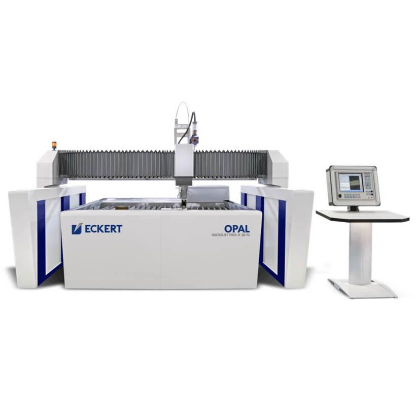 Eckert – Vannskjæremaskin med plasma